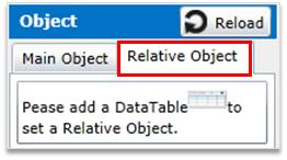 4) Relative object - SkyVisualEditor V11 0 Help Document - TerraSky